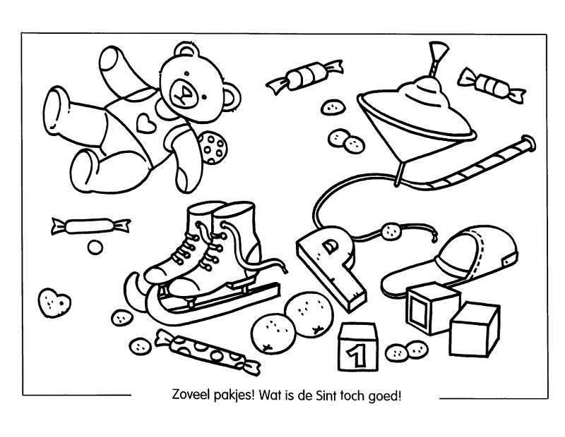 prezenty i zabawki kolorowanka 19 kolorowanki do druku